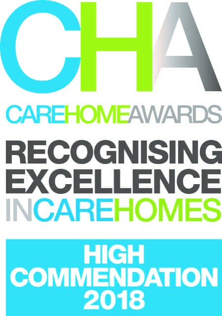 Care Home Awards 2018 - High Commendation 2018